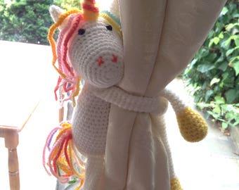 Unicorn Curtains Etsy