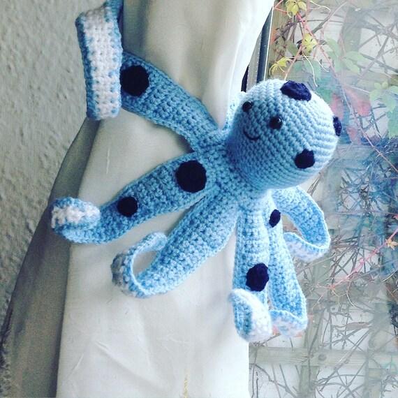 Häkeln Sie Amigurumi Oktopus Oktopus Krawatte Zurück Etsy