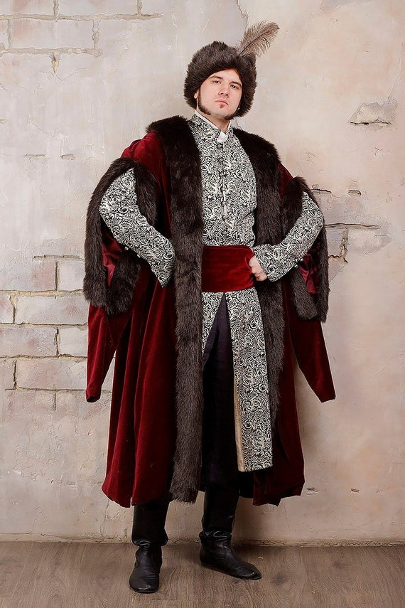17th Century Ukrainian Clothing Made-to-measure With