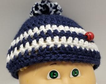 26586a1978695d Duke University, Duke Blue Devils, Blue Devils Preemie cap, Blue Devils  NewBorn cap, Duke Infant cap, Shower Gift, Hospital Gift, Duke Baby