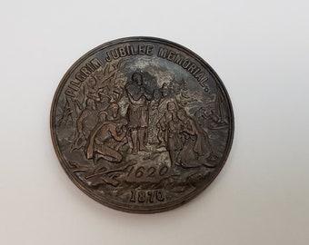 medal pilgrim fathers 1620-2020