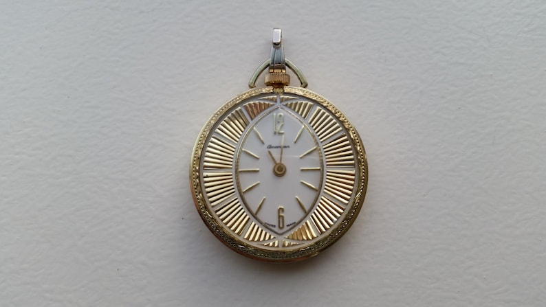 Buy Cheap Swiss Made Heritage Vintage Wind Up Necklace Pendant Watch Girls' Clothing