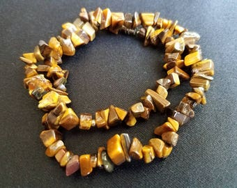 Chunky Tigers Eye Necklace