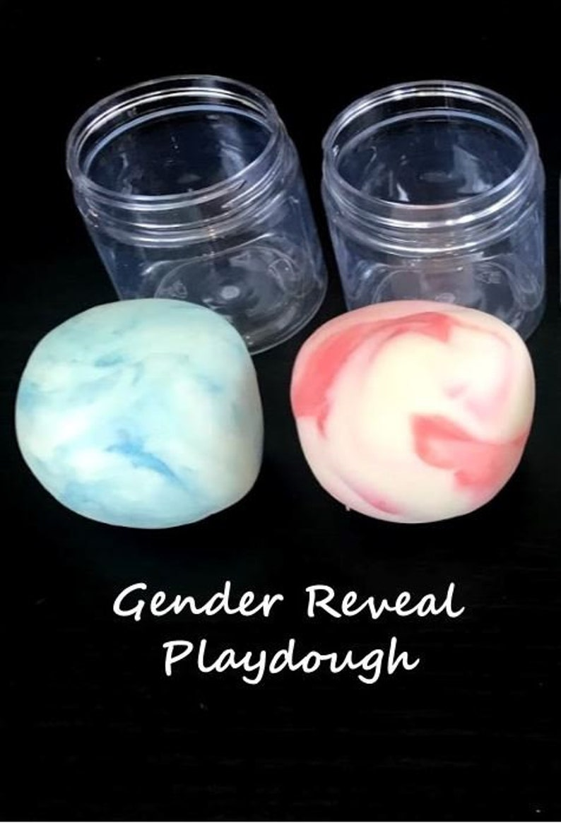 10 Pack of Color Changing Playdoughs Gender Reveal Playdough Lavender Scented.