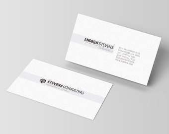 Photography business card template photographer visiting etsy minimal business card template corporate business cards minimalist calling card photoshop template psd instant download 002 reheart Image collections