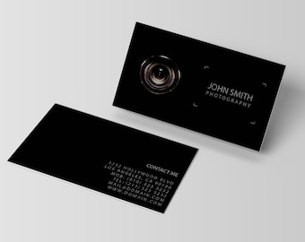 Photography business card template etsy best selling items favorite favorited add to added photography business card template fbccfo Gallery