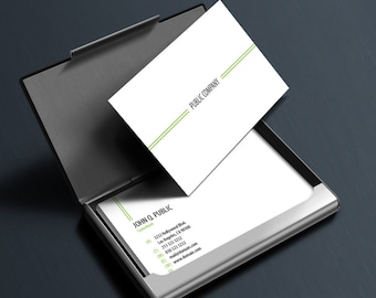 Professional Modern Minimalist Business Cards Template [PSD | INSTANT DOWNLOAD]