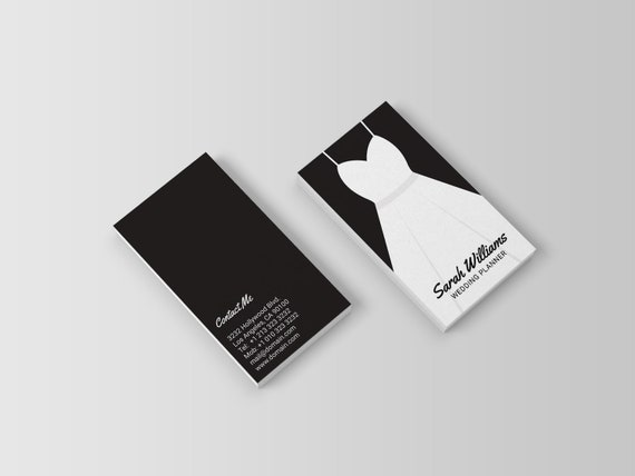 Wedding Planner Business Card Template Event Planner Etsy