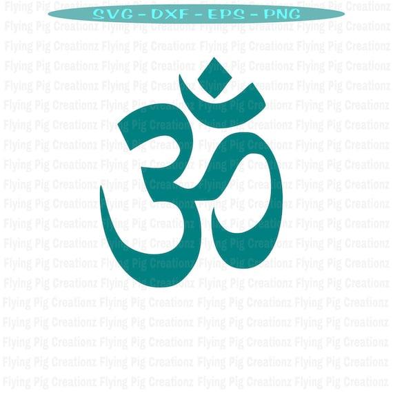 Ohm Symbol Meditation Yoga Spiritual Buddha Infinity Love Etsy