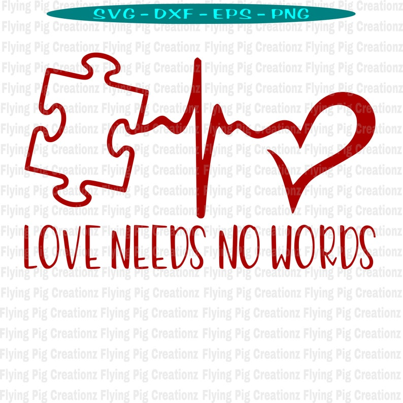 Download Autism svg Autism Awareness svg Puzzle Piece svg Heart   Etsy