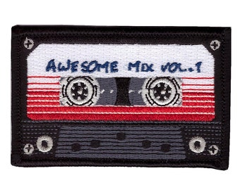 Hook Fastener Awesome Mix Tape Morale Tactical Patch