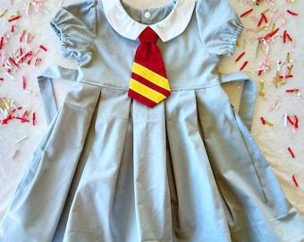 49bd0ea80 Handmade Harry Potter Hogwarts uniform dress birthday party dress up  hermonie