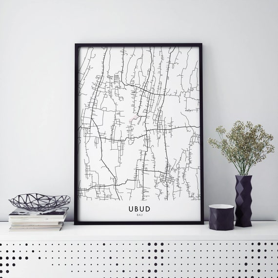 Melbourne City Lines Map Wall Art Poster Print A3 A2 A1 Sizes