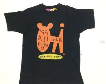 Vintage 90's Aji Pon Tour Band Bakufu Slump Made In USA