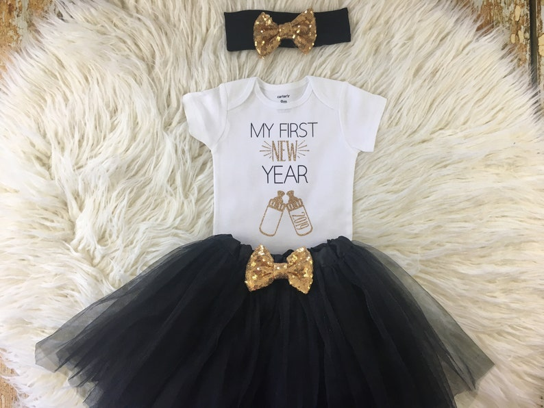 f32778197319 My First New Years My First New Year Tutu Baby's First | Etsy