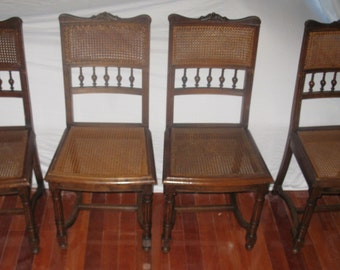 Exceptionnel Make Offer: French Cane Chairs, Antique Henri III, 6 Dining Chairs, Dining  Side Chairs