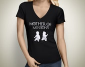 Mother of Minions V-Neck Tshirt
