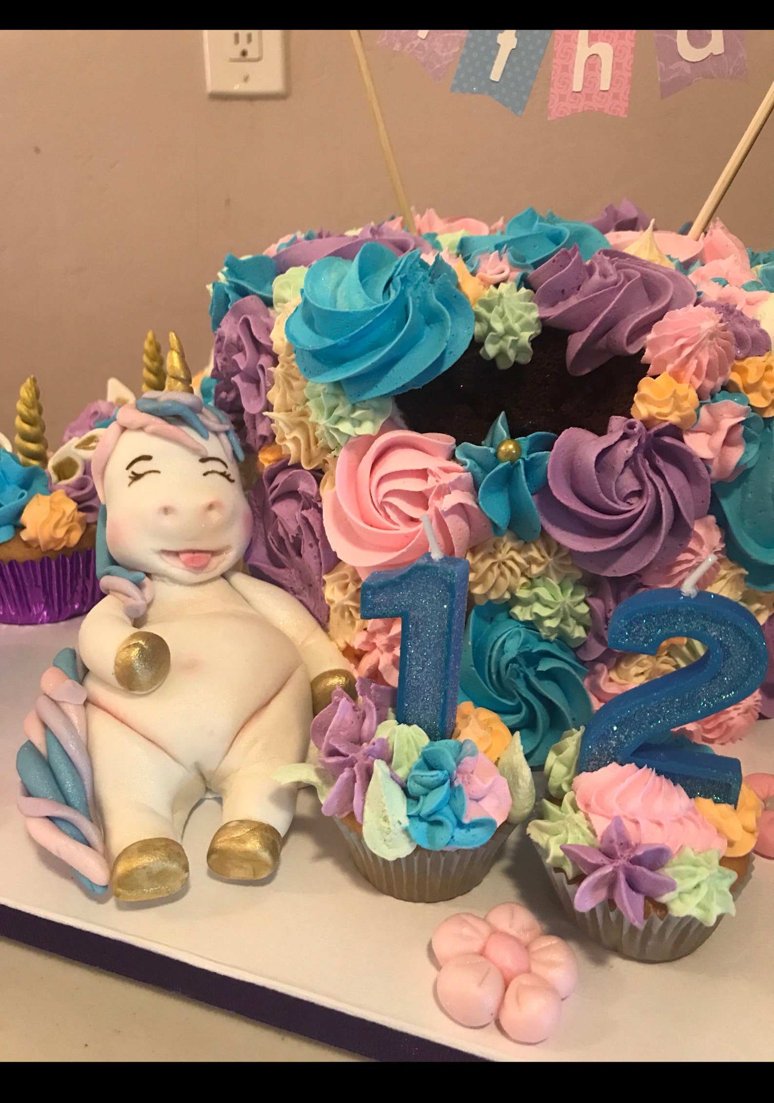 Fondant Unicorn Cake Toppers Page Five - Cakes Cupcakes Candy