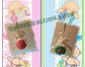 Baby shower Marshmallow Pops