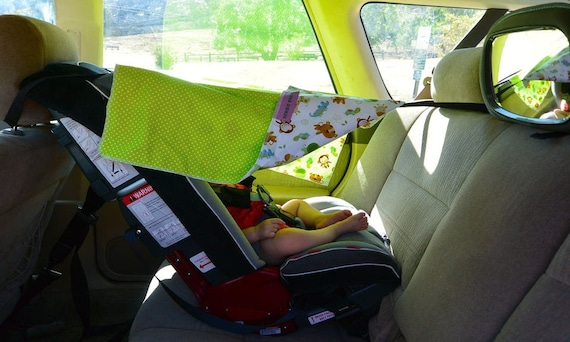 The Car Seat Shade Sun Canopy Cover, Car Seat Shade Cover