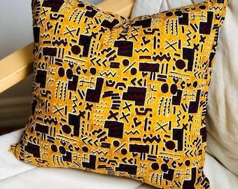 Pillow Case for Sofa Bedroom, Ankara Pillow Sham, Cushion Cover, Decorative Pillows, Throw Pillow, Pillow Cases, Pillow covers, Cushion Case