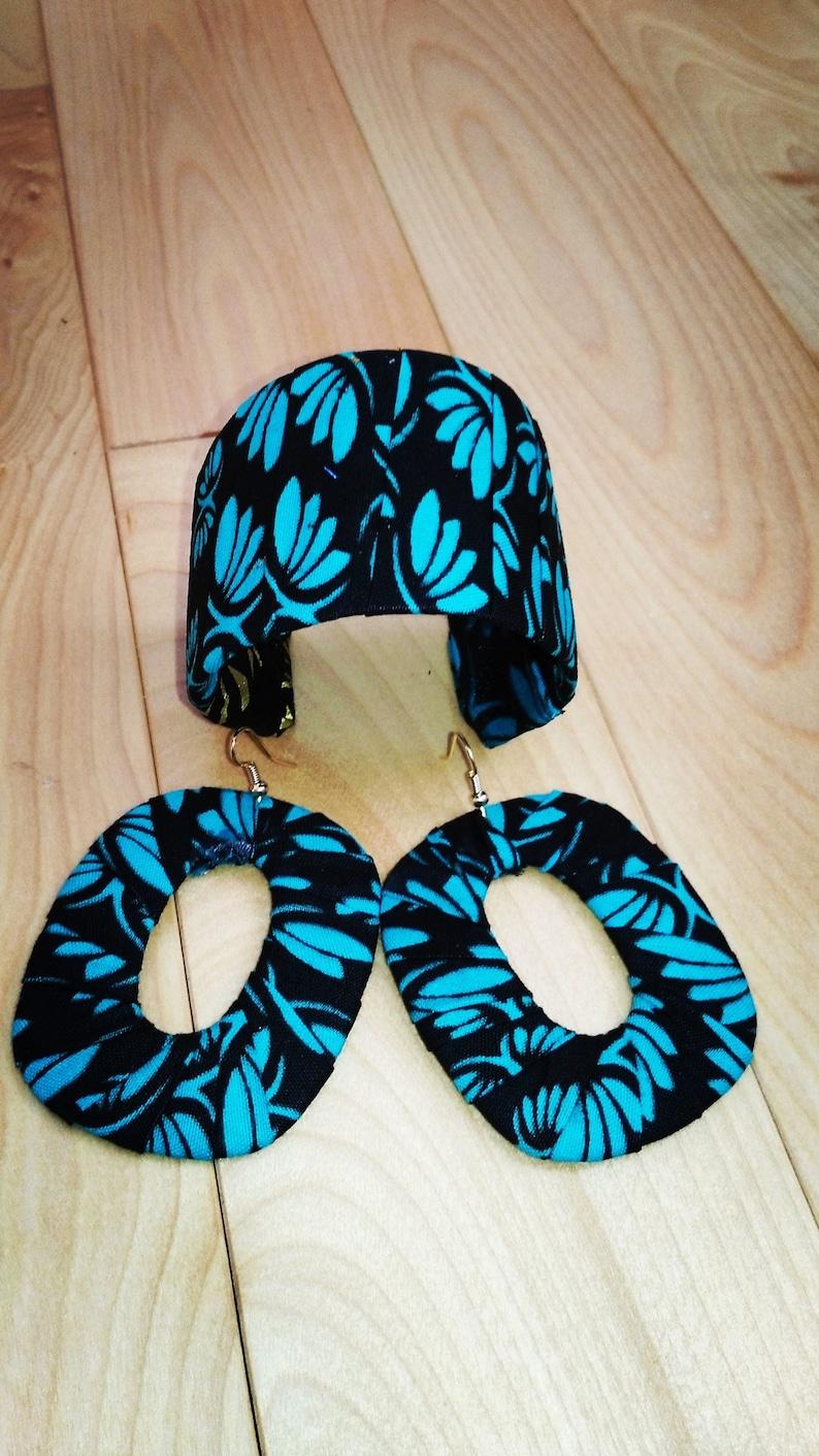 African fabric bangleafrican earringafrican braceletafrican jewelryAfrican hoopsAfrican fabricAfrican PrintAnkara DressAfrican Dress