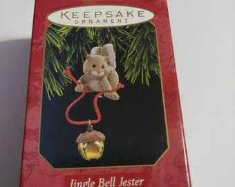 4d4f44943 Vintage Hallmark Keepsake Jingle Bell Jester Ornament