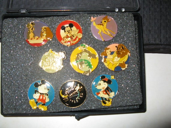 Disney Pins Mickey Mouse bambi lady and the tramp