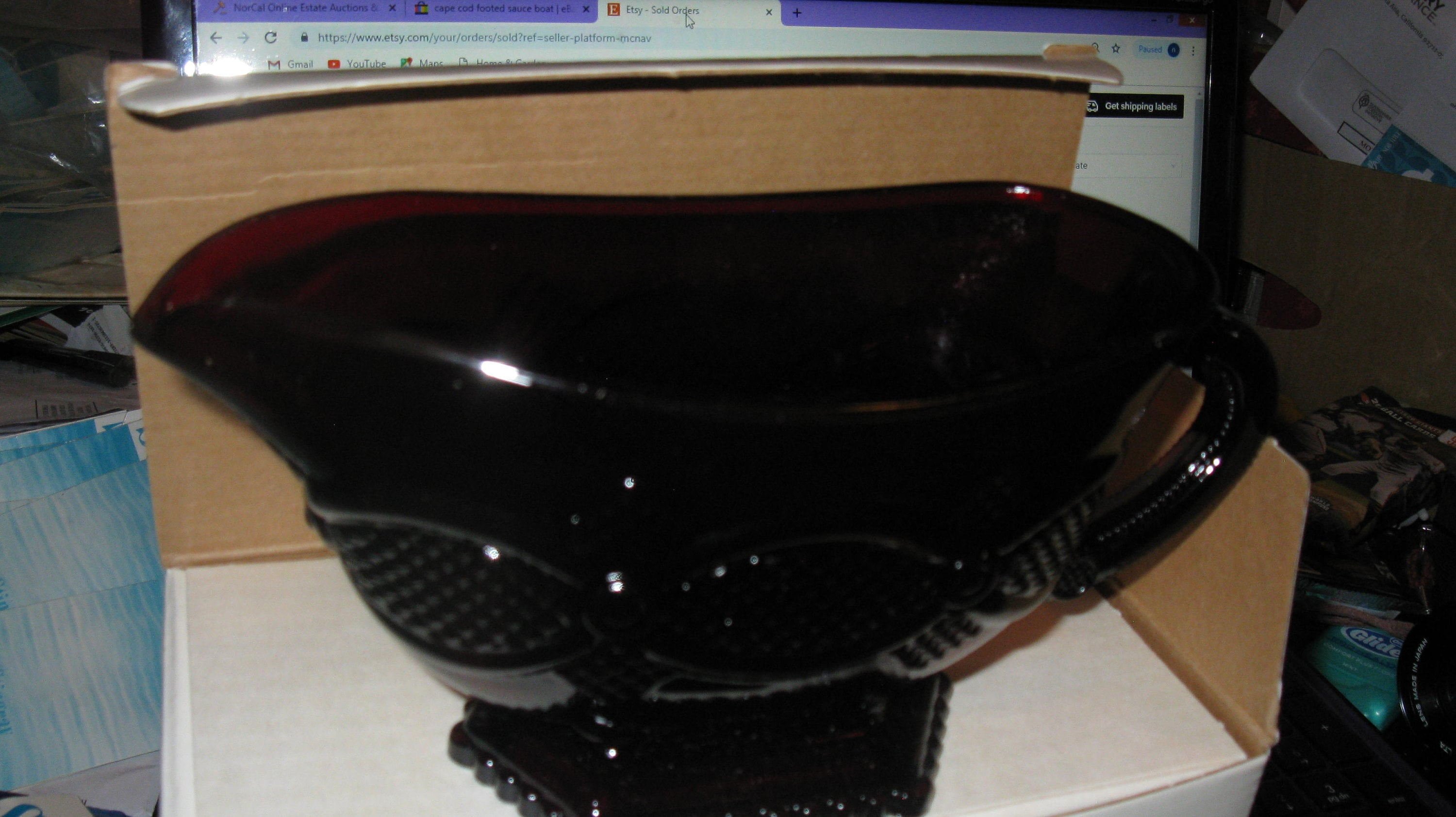 Avon 1876 Cape Cod Footed Sauce Boat