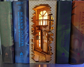 Wizard Alley Themed Book Nook