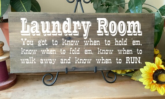 Laundry Room Sign with country music quote, Western Rustic Cowboy Laundry Room SignShop, gift for Mother's Day or birthday