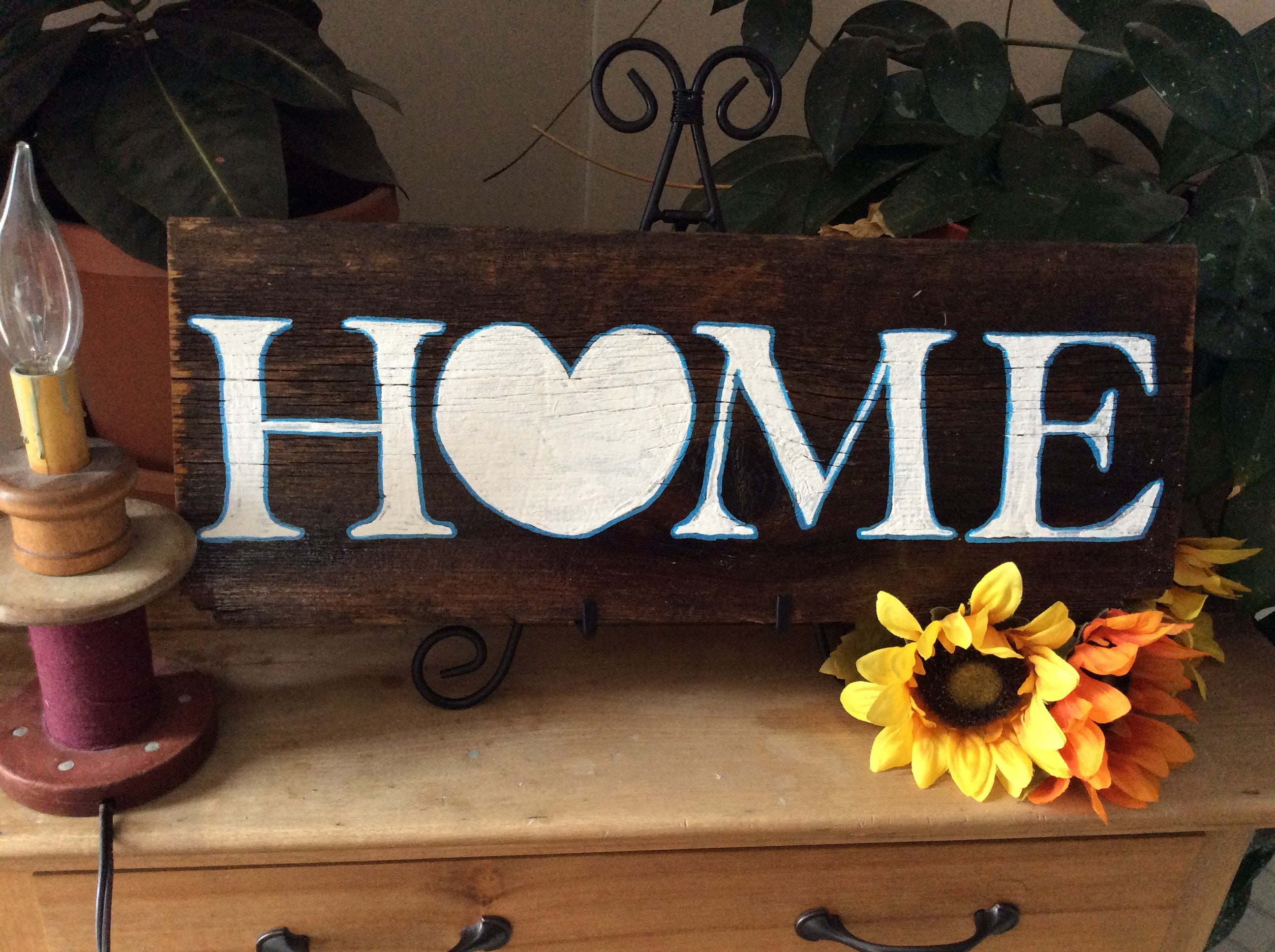 Western Home Decor Rustic Home Decor Home Is Where The Heart Is