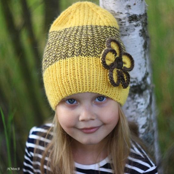 Knitting Pattern No1 Knitting Hat Pattern Toddler Child Etsy