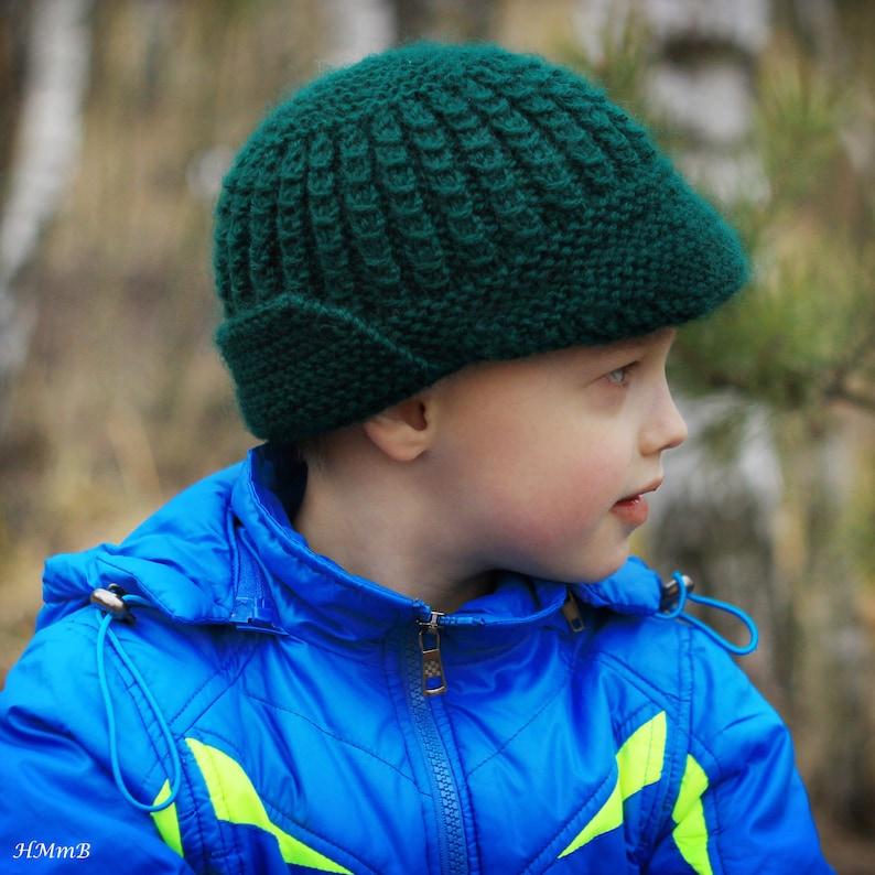 4fa2334d624 KNITTING PATTERN No. 24 knitting brim hat pattern Toddler