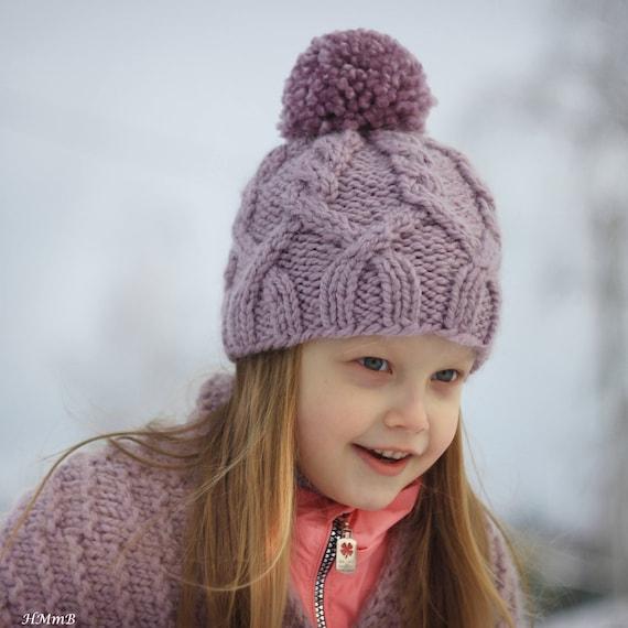 Knitting Pattern No 41 Knitting Hat Pattern Toddler Child Etsy