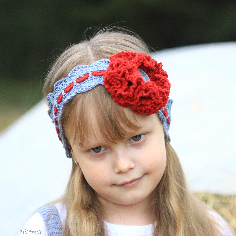 Crochet Pattern No 63 Crochet Headband Toddler Child And Etsy