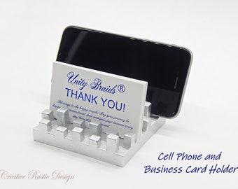 Multiple business card holder etsy business card holder desk organizer desk card holder office accessories business card display multiple business card holder iphone colourmoves