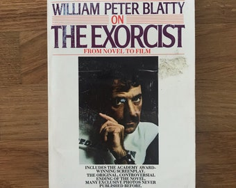 The Exorcist Paperback, From Novel to Film, William Peter Blatty. Horror