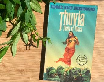 Edgar Rice Burrows - Thuvia, Vintage Science Fiction 70s Paperback.