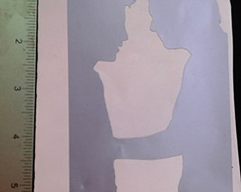 Starsky and Hutch Silhouettes Decal