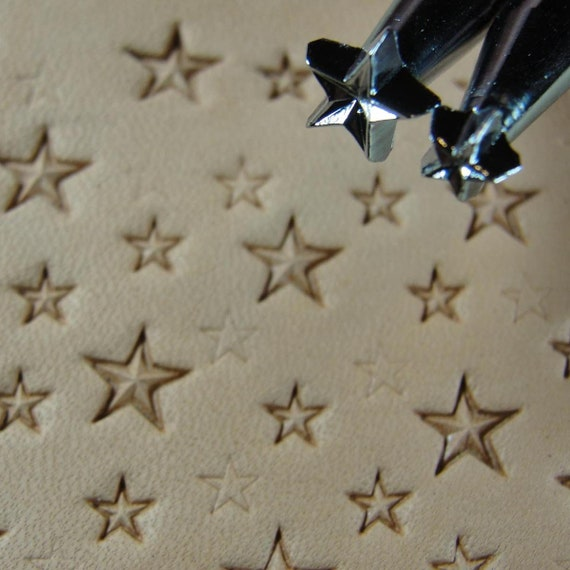 Z609 US Stamps Decorative Star Leather Stamping Tool