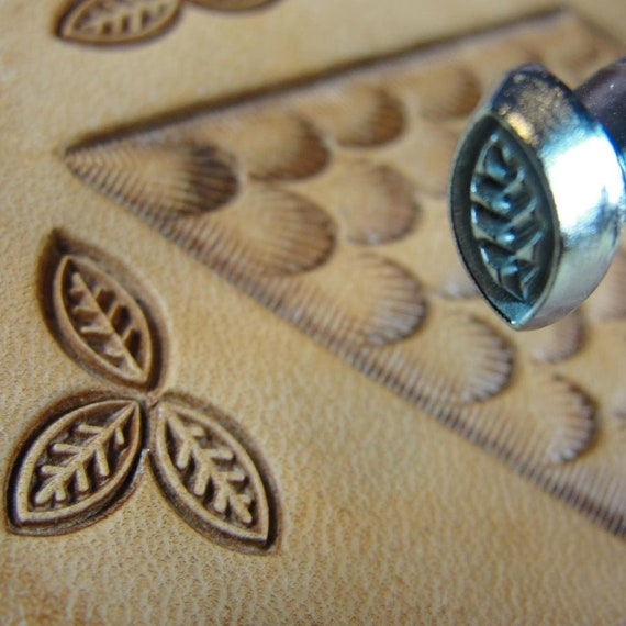 Craft Japan #S987 Small Clover Stamp Leather Stamping Tool