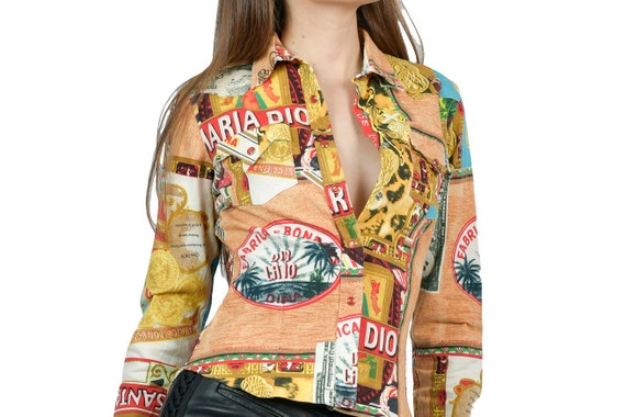 Christian Dior chemise imprimées