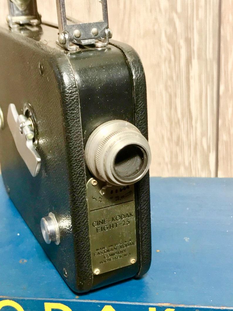 Vintage 1930/'s Kodak Cine Eight 25 8mm Film Movie Camera