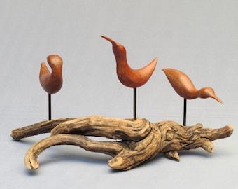 Three Redwood Shorebirds.