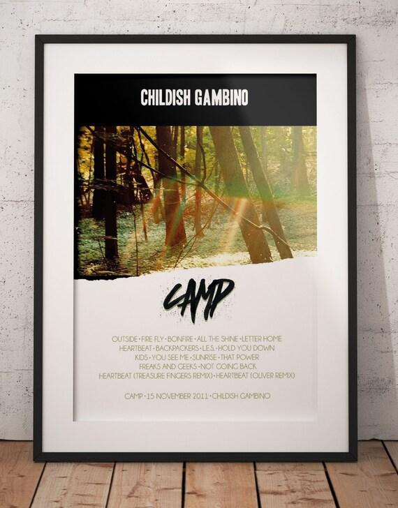 Childish Gambino Awaken My Love Album Cover Poster Giclée