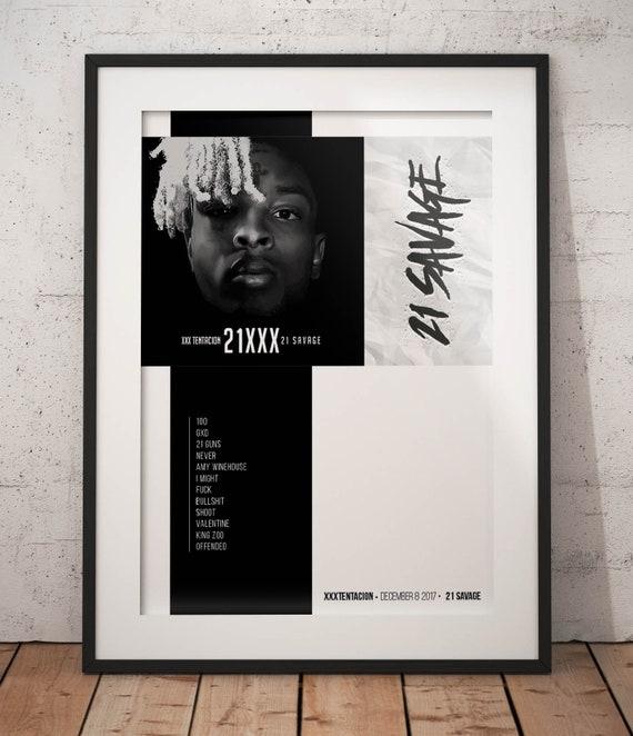 T-41 Goodbye /& Good Riddance Juice Wrld Poster Music Album Wall Decor