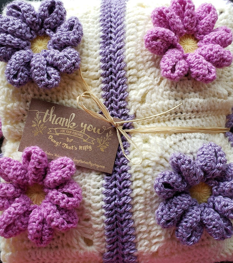 baby girl baby gift baby shower gift Crochet baby blanket crochet blanket baby girl shower gift crochet blanket Baby Blanket