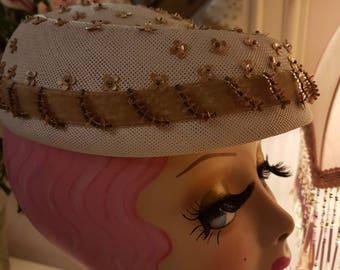1950s SCHIAPARELLI  Hat
