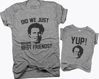 Did we just become Best Friends, Best friends, Will Ferrell, John C reilly, step brothers, movie quotes, baby shower, dad, gifts for dad